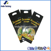 hand hold plastic bags for food packaging