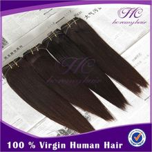 2015 new type straight brazilian human hair extensions