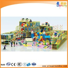 Funny theme indoor soft play area kids play gym