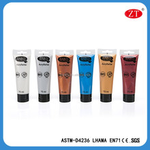 75 ml Professional non-toxic Acrylic paint for artists