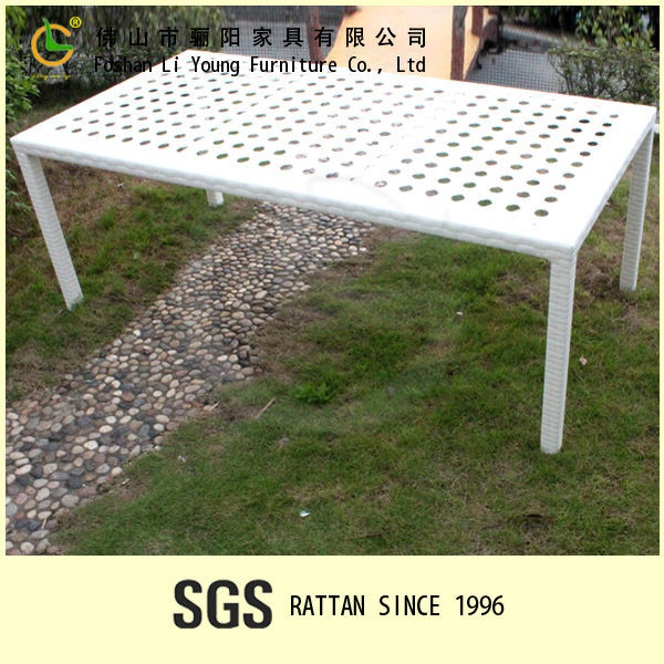 modern outdoor furniture garden pe plastic rattan patio