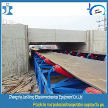 Steel Coal and Mines factory handling system, 3 roll trough rollers belt conveyor idler