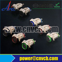 19mm metal push button switch UL CE ROHS