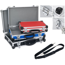Varo Slimline Triple Set of 3 Storage Tool Carry Cases Small / Medium / Large with Handle & Locking Clasps PRM10103X