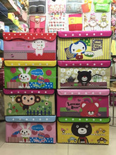 2015 Top seller fabric lined storage boxes ,home decoration boxs for storage