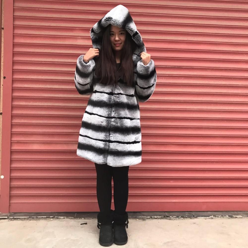 Купить Куртку Из Кролика С Капюшоном