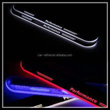 LED moving door scuff for BMW F30 F35 F10 F18 X3 X5 E70 M sports Car LED door sill plate light for BMW