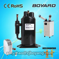 R410a residential moving air conditioner parts rotary a/c compressor for Equipment instrument room air conditioning cooler
