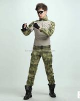 Combat Uniform Gen3 shirt+pants Military Army Suit with knee pads uniform Multicam