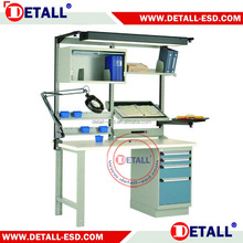 hot sale with CE & ISO electronic laboratory working table with anti static table top and heavy duty capacity leg