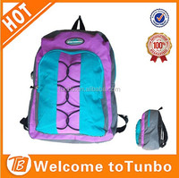bag China Unisex Hot Shot women 600D nylon sport backpack