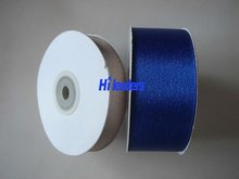 Polyester Satin Ribbon With Metallic Yarn