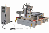 furniture making woodworking auto tool change CNC ATC router machine tangential tool and boring unit