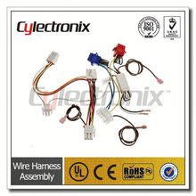 ISO9001:2008 df13 connector wire harness one head immersion tin