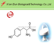 99% purity L- tyrosine natural antidepressant materials GMP factory direct sale