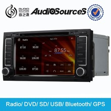 """Audiosources 7"""" HD DVD Player for vw touareg T5 Multivan with gps navigation,2TB HARD DISK"""