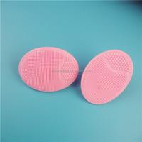 1PAIR Set Of 2Pcs Silicone Facial Scrub / Wash Pad / Brush Remove Dirt Deeper Clean Exfoliate Skin (2pcs/set)