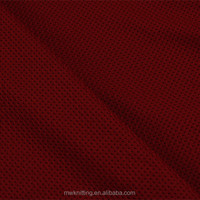 100% Polyester Double Mesh Knitting Fabric for Sport Wear/Linning