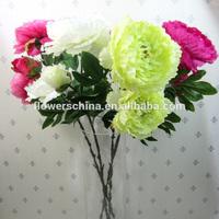 Hot selling UAE new style peony silk flower,silk peony flowers wholesale