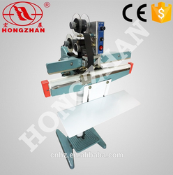 Hongzhan KS series manual bag sealer simple foot sealer with cutter