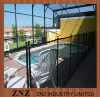 ZNZ Trade Assurance Factory High Quality Security Aluminum Fencing Around Pools