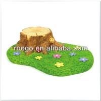 Zakka artificial craft grass resin crafts