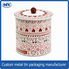 High Quality Chinese Factory Round Tin Metal Gift Box