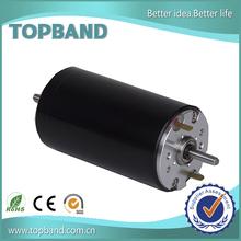 150 w ironless DC motor 12 volt electric worm gear motor