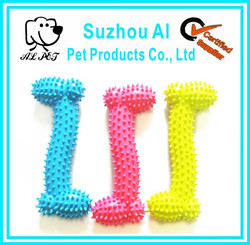 Hot Selling Pet Products Non-toxic Rubber Bone Pet Toy