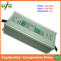 50W ac85~265V 1500ma constant current IP67 waterproof led driver for led light LZ-WPA11