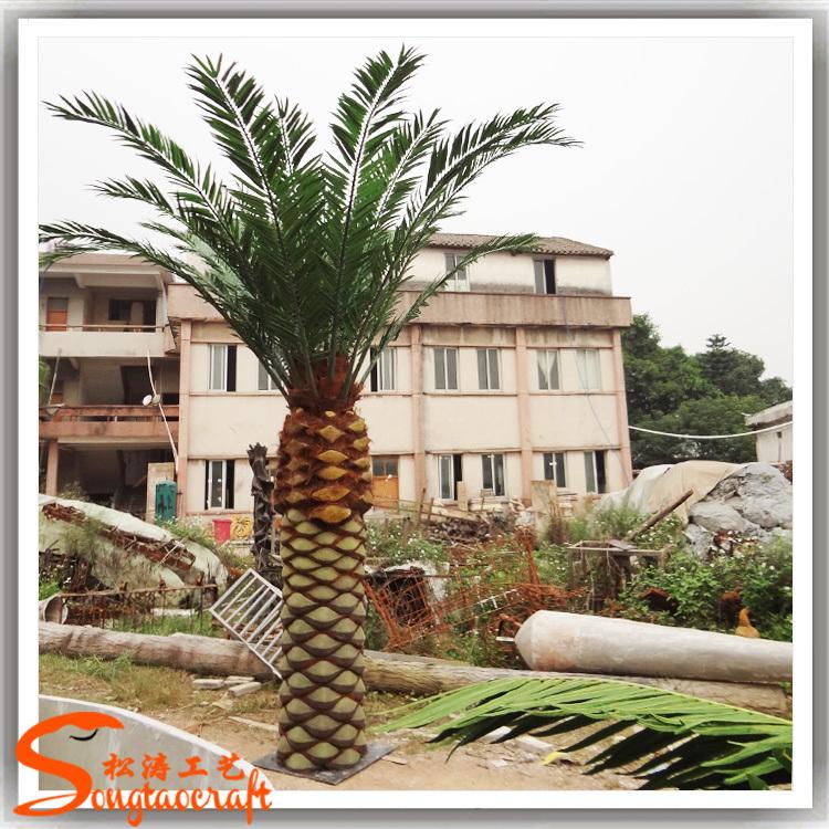 hot nouveaux produits artificielle palmier feuilles ext rieur artificielle palmier date palmier. Black Bedroom Furniture Sets. Home Design Ideas