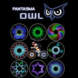 Amazing Bike Product for wheels ! BK-2071 Fantasma OWL LED on Bike Wheel Lighting System