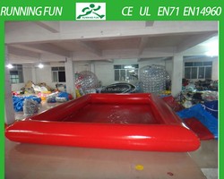 0.9mm pvc inflatable pool table for kids