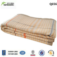 BLUE PHOENIX high quality thick pure wool home textile blanket