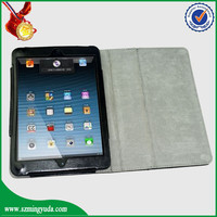 crazy horse pattern without karboard pu leather case for ipad mini