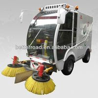 Electric or Gas Powered Street Sweeper