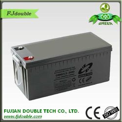 China supplier high quality cheap MF AGM rechargeable storage battery 12V 2000ah gel solar panel battery DBG12-200