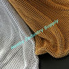 Silver and Gold Color Sequined Metal Mesh Curtain