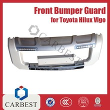 High Quality Hot Sell ABS Front Bumper Guard With Light for Toyota Hilux Vigo 2014