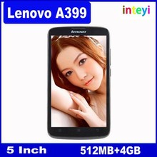 Newext Original Lenovo A399 Mobile Phone 5 inch MTK6582 Quad Core 1.3GHz Android 4.4 Wifi 3G WCDMA Dual SIM Smart Phone
