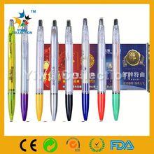 Custom Scroll Ball Pen, Blue Refill Scroll Pen, New Design Banner Pen