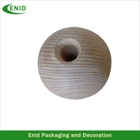 various round wood beads teak wood ball wood carving balls