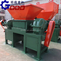 Good quality wood shredding machine also can use for metal can crushing