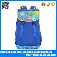 Manufacturers China Stock Sports Bag Canvas Printed Girls School Backpack Bag
