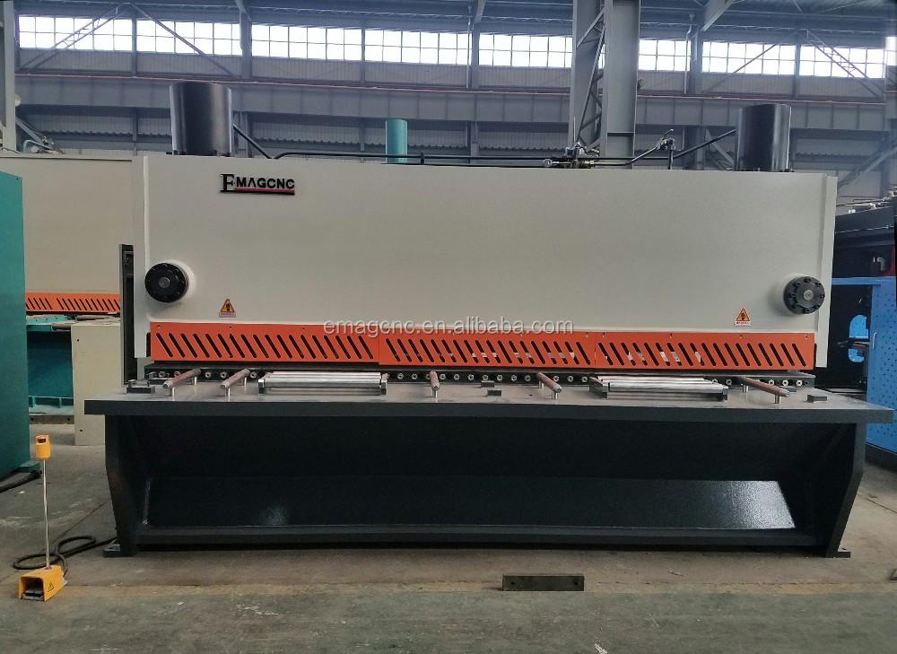 Preço barato certificação CE boa qualidade de QC12K TESOURA guilhotina hidráulica máquina de corte da placa