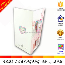 Chinese factory cusotmize fashion valentine love card designs