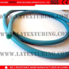 natural latex tube for fitness and fishing made by extruded process and dipped process