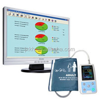 2015 new Color Big LCD Ambulatory Blood Pressure Monitor with free analysis software