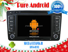 Android 4.2 car gps navigation system for VW Skoda Octavia II (2004-2011),Capacitive and multi-touch screen support OBD