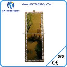 customized sublimation aluminium bookmark